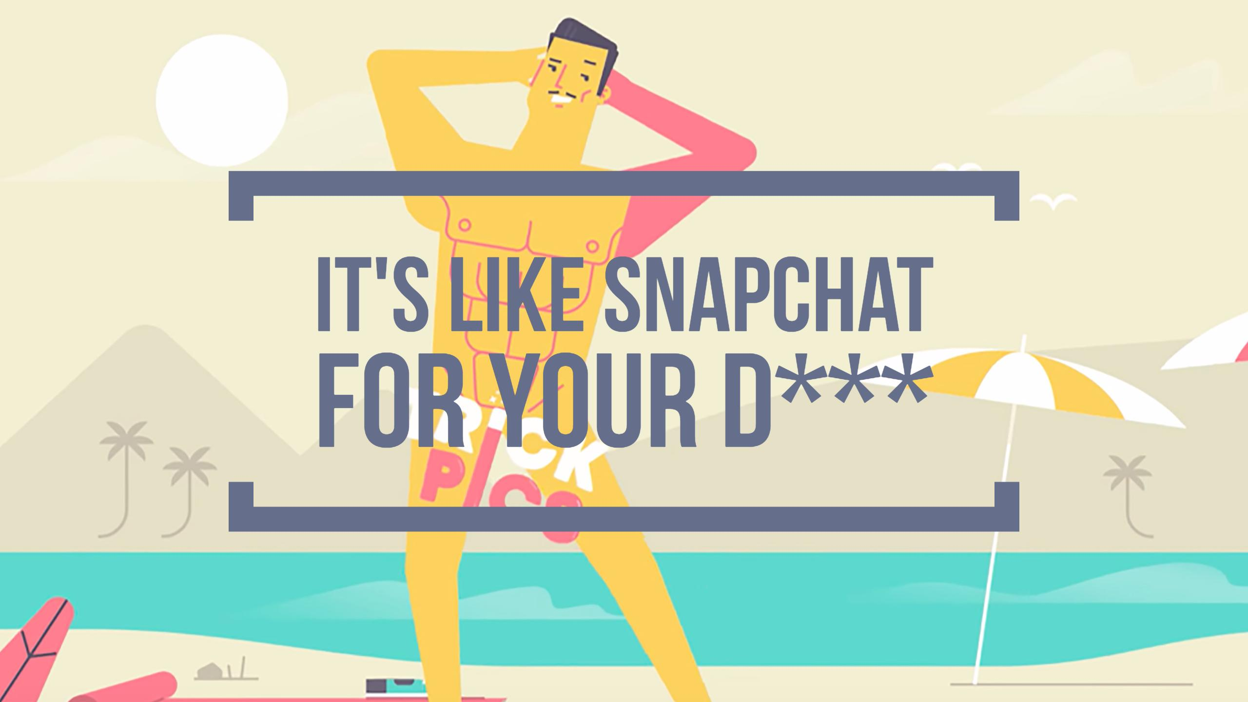 "App Review: TrickPics – ""It's Like Snapchat for your D****"""